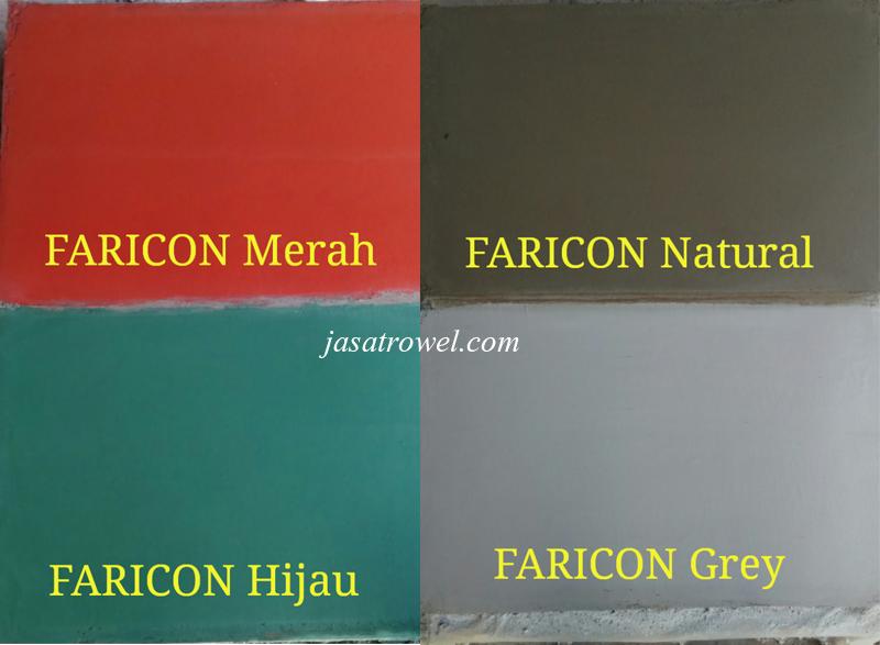 Warna Floor Hardener Faricon
