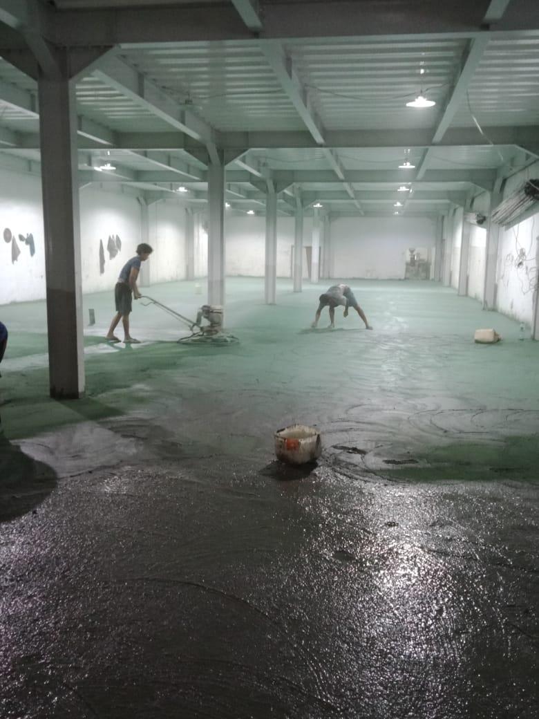 Trowel Floor Hardener Subang