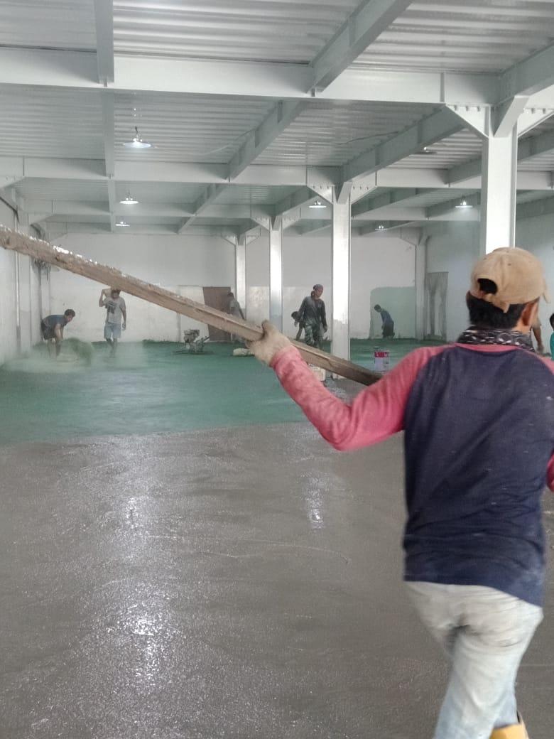 Jasa Trowel Floor Hardener Tangerang